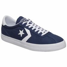 Converse Breakpoint Ox Midnight Navy White Womens Canvas Low-Top Retro Trainers