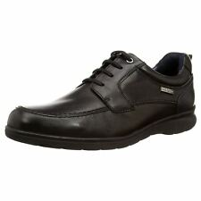 Pikolinos San Lorenzo M1C-4038 Black Mens Leather Lace-up Derby Style Shoes
