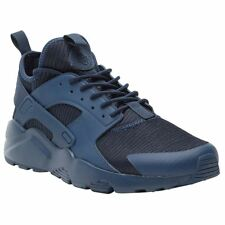 Nike Air Huarache Run Ultra SE Navy Obsidian Mens Mesh Lace-Up Sneakers Trainers