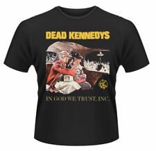 Dead Kennedys T Shirt In God We Trust Official Licensed Black Mens Rock Merch
