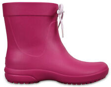 Crocs Freesail SHORTY RAINBOOT SCARPE DONNA STIVALI IN GOMMA ANTI PIOGGIA -