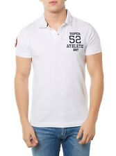 NEUF SUPERDRY t-shirt polo polo homme m11011to blanc homme