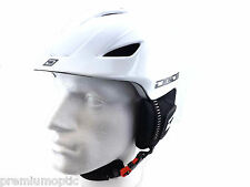 Dirty Dog ajustable Eclipse Casco Snowboard Blanco small-medium-large