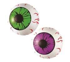 Inflatable Eyes Horror Blow Up Beach Ball Volley Scary Prop Party Decoration