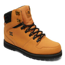 DC Shoes Men's Peary Winter Boots Snow Shoes Wheat Brown Snow Skii Warmer Cold C