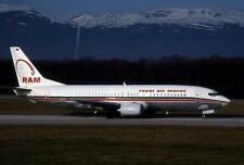 ROYAL AIR MAROC Years 90' Airliner-  Kodachrome 64 Slide - Diapositive