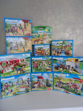 PLAYMOBIL COUNTRY RANCH cavalli / corte dei Pony - Set da scegliere -