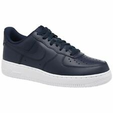 Nike Air Force 1 07 Obsidian White Men Leather Classic Low-top Sneakers Trainers