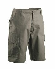 BERMUDA SHORTS CARGO HOSE ACU R/S OLIV ARMY MILITARY BW OUTDOOR