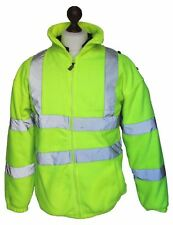 New Ex Police Hi Vis RTY Fleece Jacket Security Dog Handler