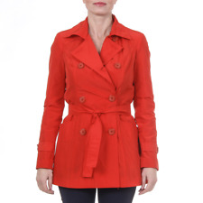Versace 19.69 TRENCH CORTO NEW MEMORY ROSSO Giacca donna Rosso IT