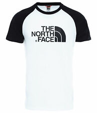 The North Face RAGLAN EASY TEE T-shirt Homme Noir Blanc