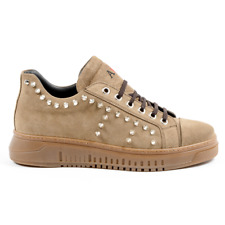 Andrew Charles 52 CAMOSCIO TAUPE sneaker pour homme Taupe FR