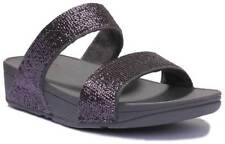Fitflop ELECTRA MICRO SLIDE Pewter Women Synthetic Sandals