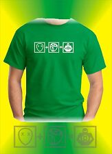 Camiseta The Big Bang Theory Cooper Green Lantern