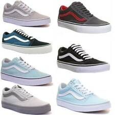 Vans Old Skool Drizzle Pastel Grey Size UK 3 - 8
