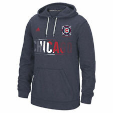 Chicago Fire adidas Aeroband climawarm Ultimate Hoodie - Navy
