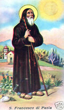 SANTINO HOLY CARD SAN FRANCESCO DI PAOLA
