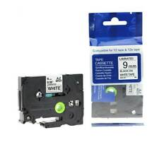 Compatible Brother TZE-221 P-Touch 9mm x 8m Black On White Label Tape VAT inc
