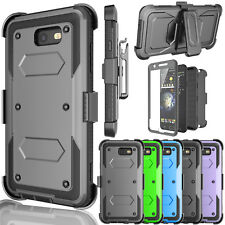For Samsung Galaxy J7 Sky Pro / J7 V 2017 Belt Clip Kickstand Holster Case Cover