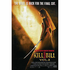 POSTER ORIGINALE LOCANDINA KILL BILL VOLUME 2