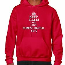 Keep Calm And Love Chinese Martial Arts Hoodie