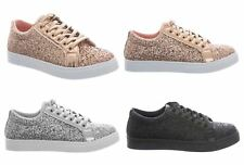 New Shelikes Womens Fashionable Speckled Trendy Trainers
