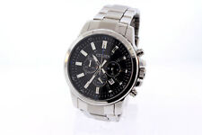 Men's Citizen AN8085-56E Quartz Stainless Steel Chronograph Black Dial Watch