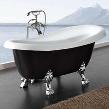 freistehende retro badewanne acryl 170x75 antik nostalgie standbadewanne armatur ebay. Black Bedroom Furniture Sets. Home Design Ideas