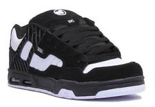DVS Enduro Heir Men Nubuck Leather White Black Trainers