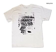 Official T Shirt FALL OUT BOY Mania White 'Glitch' Logo All Sizes