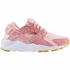 Nike Huarache Run SE Coral Stardust Youth Running Slip-on Low-top Sport Trainers