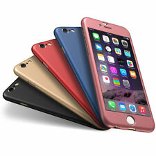 para Apple iPhone 6 6s 7 PLUS ULTRA FINO 360° Funda Delgada Dura