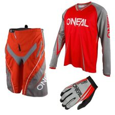 Oneal Freeride ELEMENTO Blocker mountainbike DH Combinato DOWNHILL MTB Rosso