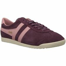 Gola Bullet Windsor Wine Coral Womens Suede Classic Low-top Sneakers Trainers