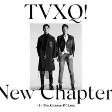 K-pop TVXQ - Vol. 8 NEW CHAPTER #1: THE CHANCE OF LOVE (TVXQ08)