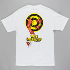 Santa Cruz Rob 2 T-Shirt White Yellow skateboard