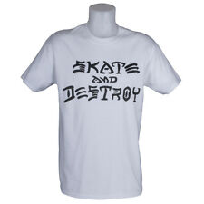 Thrasher Magazine Skate and Destroy T-Shirt White skateboard