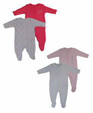 Name it 2 Pack Pijama Bebé Niña Nightsuit Pelele una sola pieza Pelele