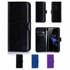 32nd Book Series – Synthetic Leather Flip Wallet Case Cover - Sony Xperia XZ2
