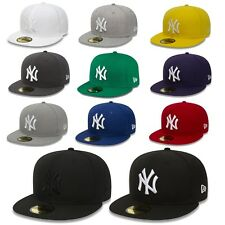 NEW ERA Casquette 59fifty ajusté Yankees de YORK MLB Baseball authentique