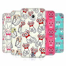 HEAD CASE DESIGNS CUTE & GEEKY HARD BACK CASE FOR HTC PHONES 1