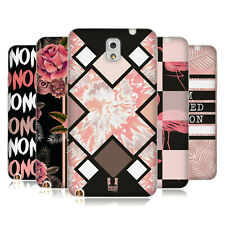 HEAD CASE DESIGNS BLACK & PINK SOFT GEL CASE FOR SAMSUNG PHONES 2