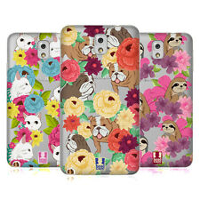 HEAD CASE DESIGNS FLORAL & ANIMAL PATTERN SOFT GEL CASE FOR SAMSUNG PHONES 2