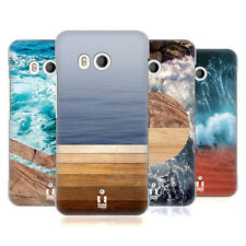 HEAD CASE DESIGNS SEA AND WOOD PRINTS HARD BACK CASE FOR HTC PHONES 1