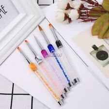 Nail Art Brush Dotting Tools Manicura Art Carving Pen ENE