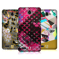 HEAD CASE DESIGNS ABSTRACT IMPRESSIONS HARD BACK CASE FOR LENOVO PHONES