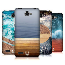 HEAD CASE DESIGNS SEA AND WOOD PRINTS HARD BACK CASE FOR LENOVO PHONES