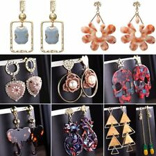 Boho Triangle Flower Heart Elephant Dangle Drop Ear Stud Earrings Jewellery Gift