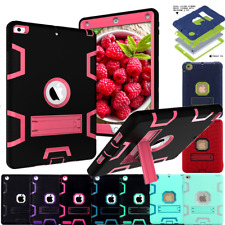 Heavy Kids Shockproof Hard Rubber Case Cover for iPad 2 3 4 Mini Air 2 9.7in Lot